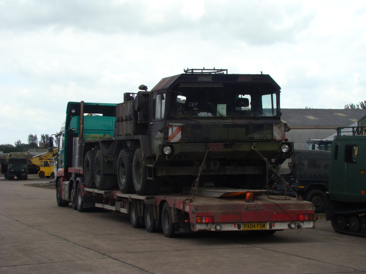 Delivery the Faun Military SLT50-2  8x8 Tractor Truck