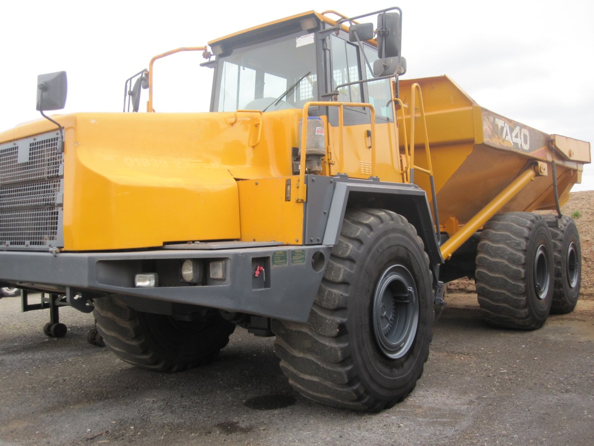 Terex TA40/  for sale in Angola, Kenya,  Nigeria, Tanzania, Mozambique, South Africa, Zambia, Ghana- Sale In  Africa and the Middle East