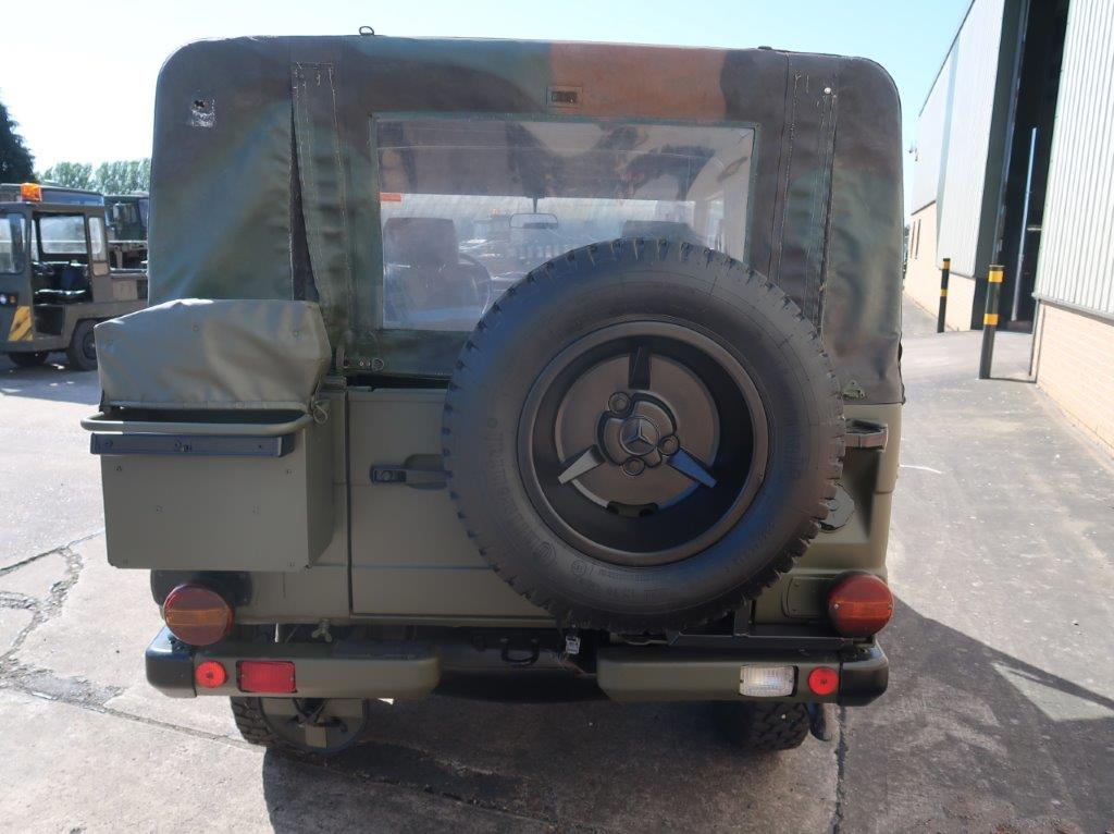 Mercedes Benz G Wagon 250 Soft Top   used military vehicles, MOD surplus for sale
