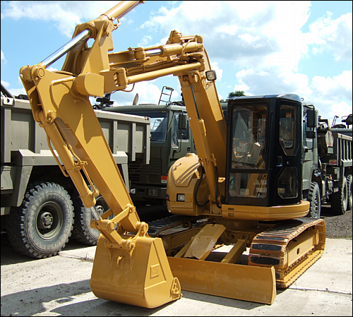 SOLD Caterpillar 308  CCR  Tracked Excavator | used military vehicles, MOD surplus for sale
