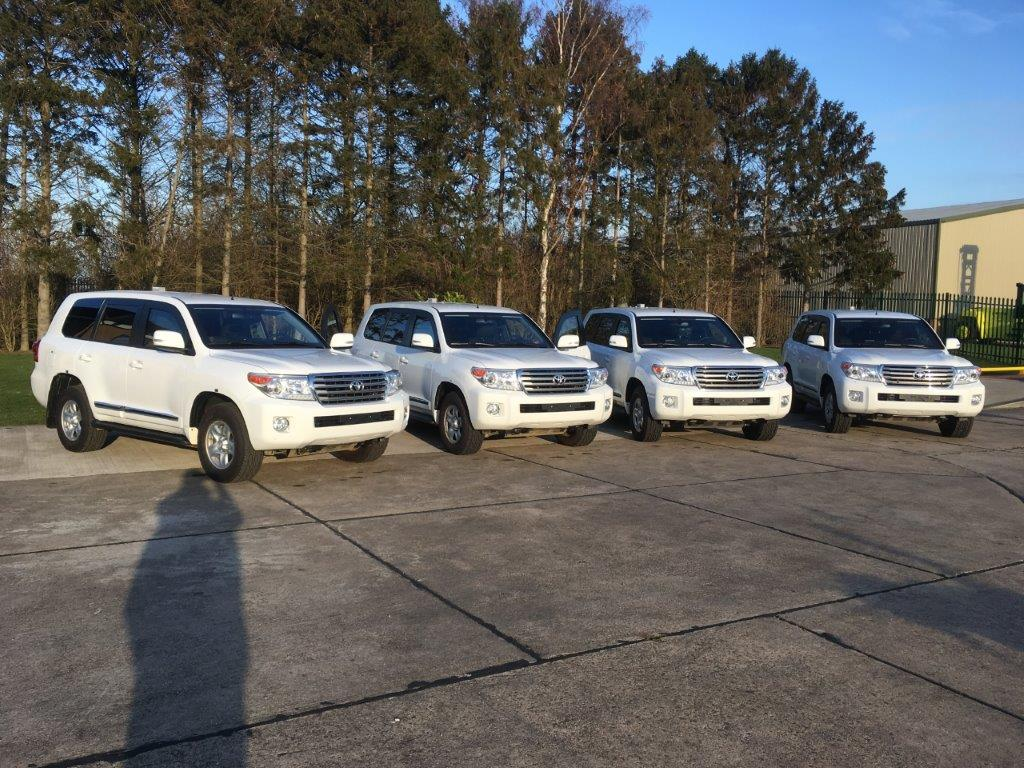 Unused Armoured Toyota Land Cruiser | used military vehicles, MOD surplus for sale
