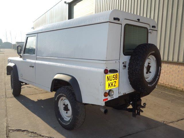 Land Rover Defender 110 RHD Hard Top | used military vehicles, MOD surplus for sale