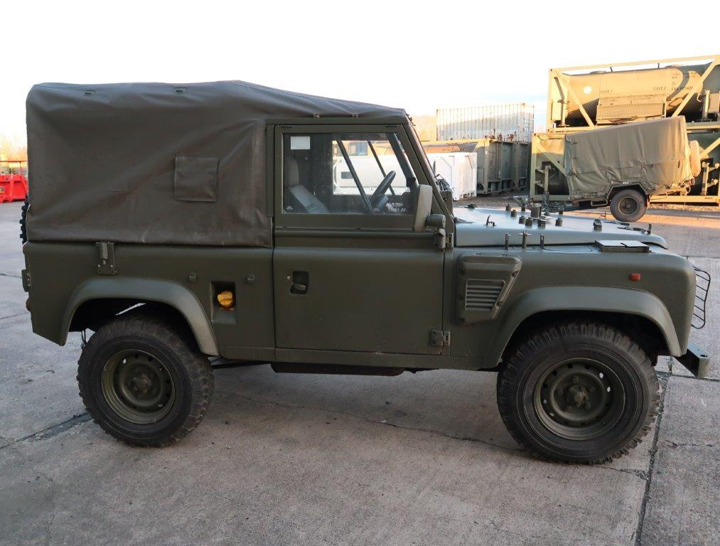 Land Rover Defender 90 Rhd Wolf Soft Top Remus For Sale