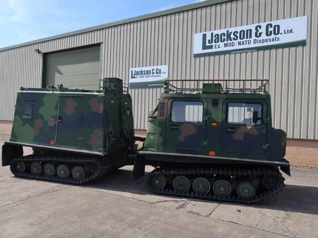 Hagglund BV 206 hardtop Radio Vehicle | used military vehicles, MOD surplus for sale