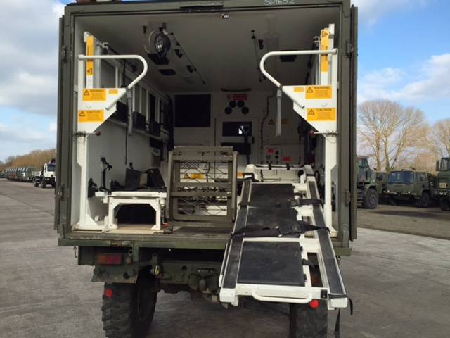 Mercedes Benz Unimog U1300L 4x4 Ambulance | used military vehicles, MOD surplus for sale