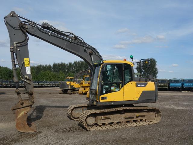Volvo EC140 DL Excavator | used military vehicles, MOD surplus for sale