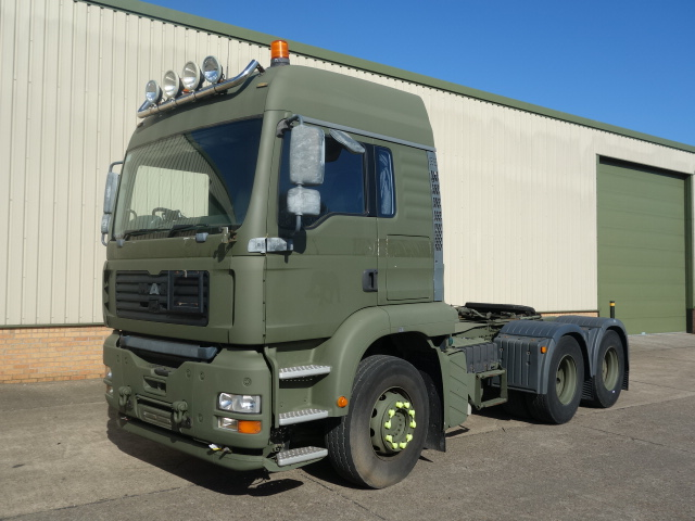 MAN TGA 26.430 6x4 Tractor Units | used military vehicles, MOD surplus for sale