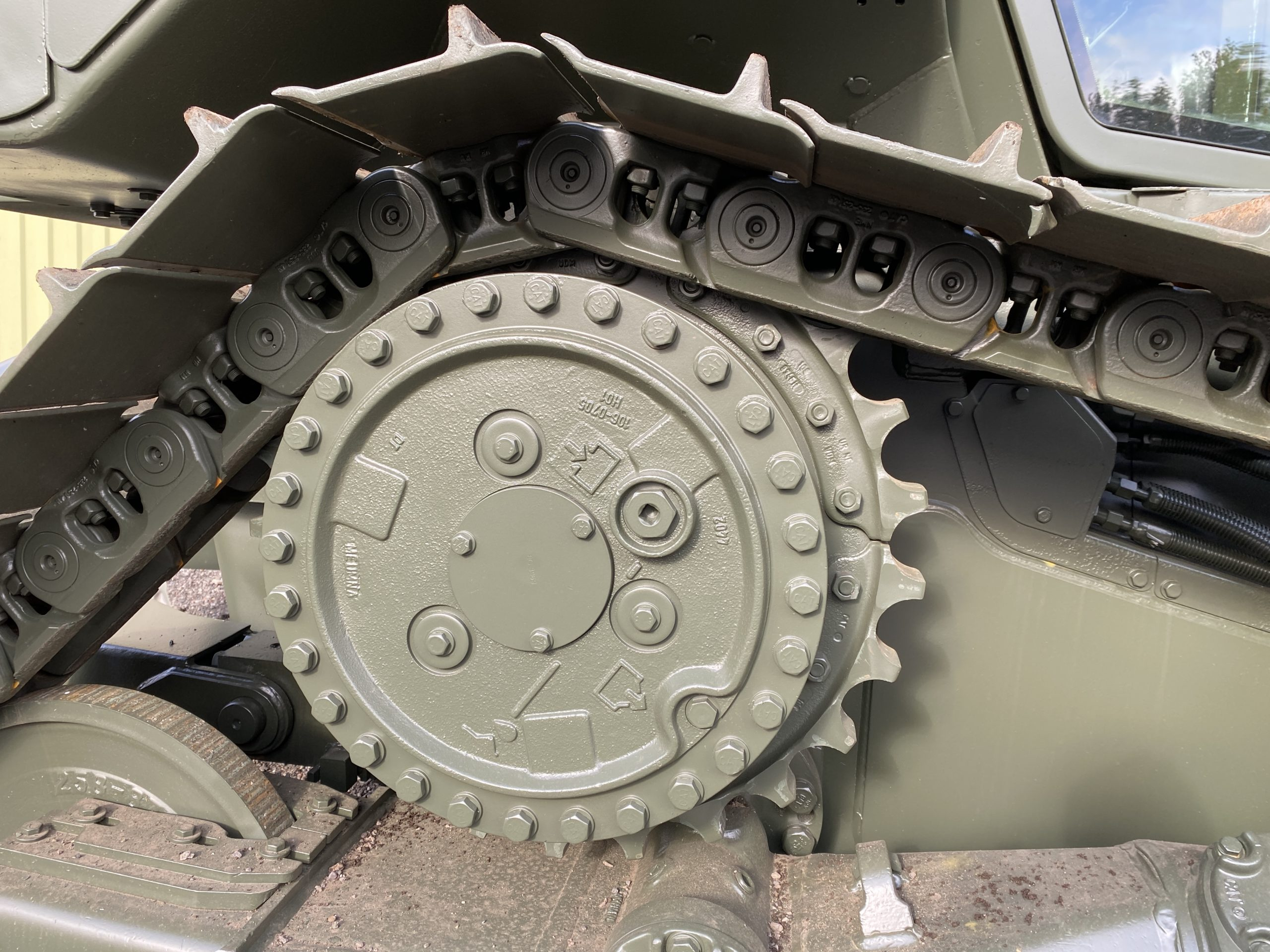 Caterpillar D5N XL Dozer with Ripper   Конверсионная техника с военного хранения