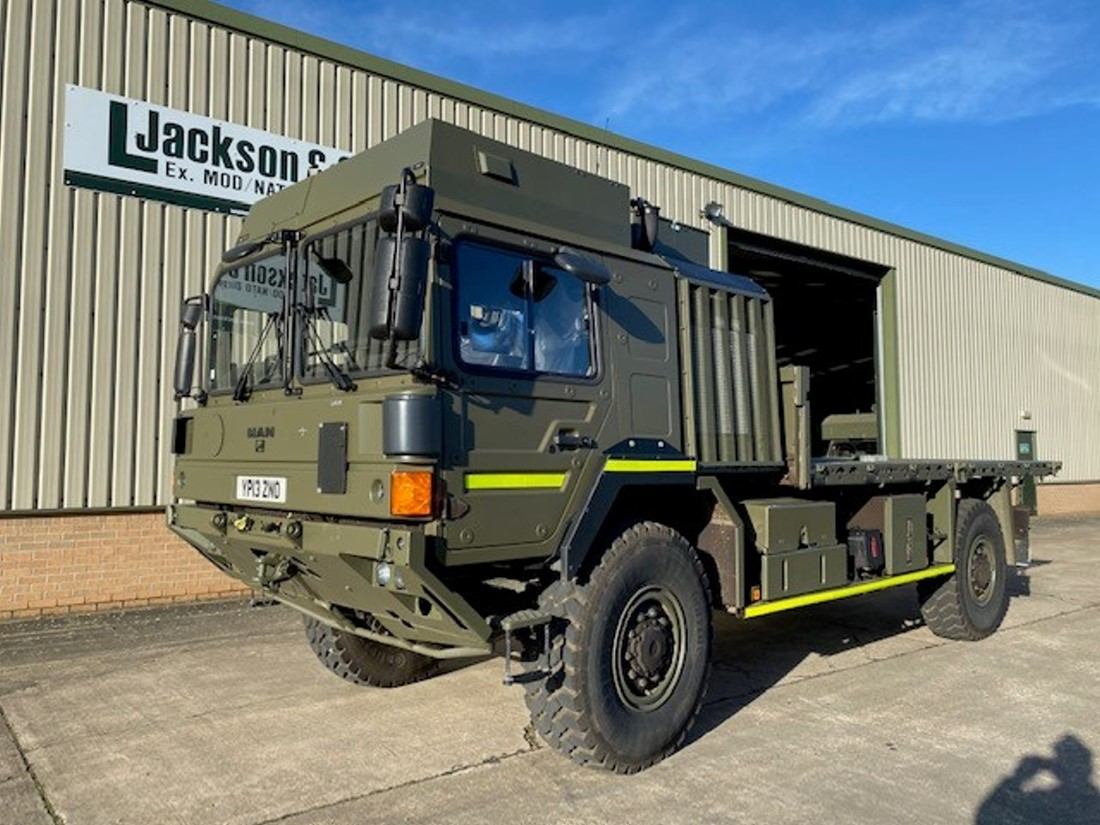 Unused MAN HX60 4x4 Cargo Truck road registered for sale