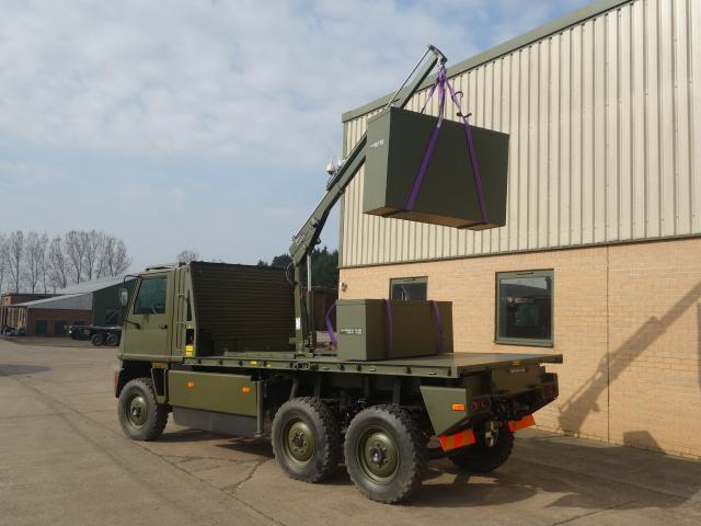 Mowag Duro II 6x6 LHD crane trucks |  EX.MOD direct sales