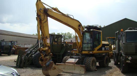 WAS SOLD Caterpillar 315 M wheeled excavators