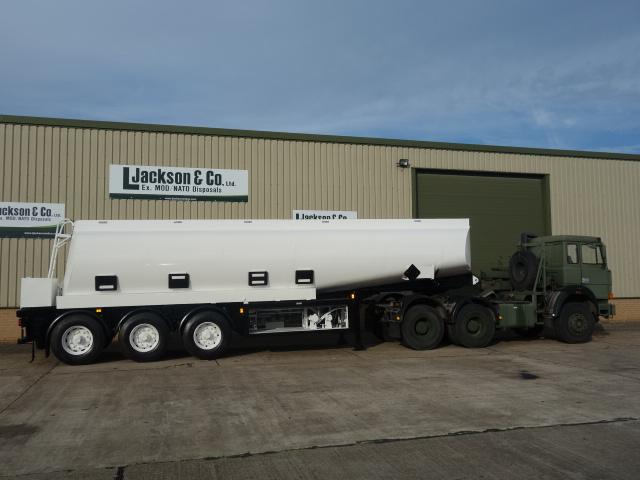 Thompson 32,000 Litre Fuel Tanker Trailer |  EX.MOD direct sales