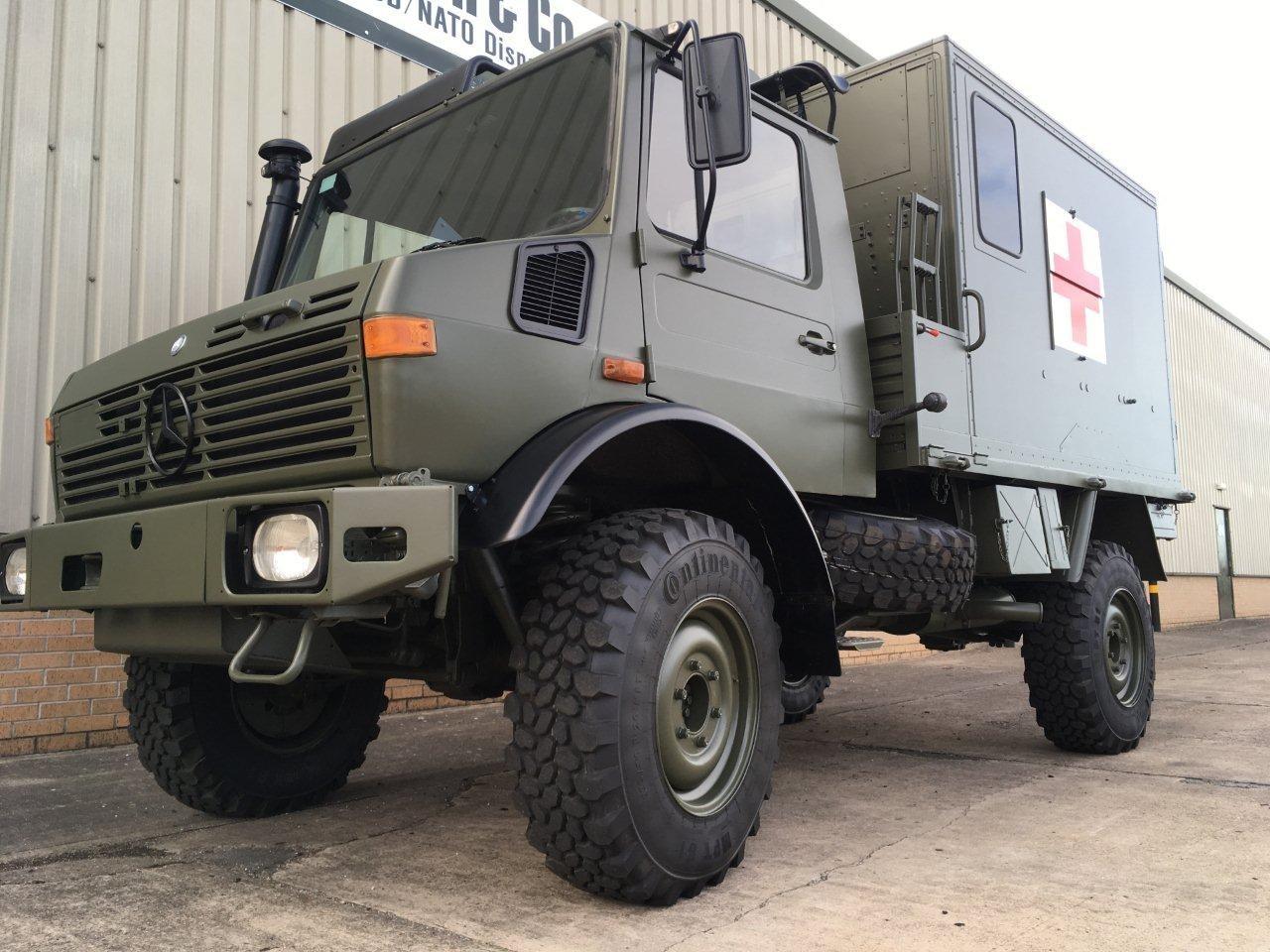 Mercedes Benz Unimog U1300L 4x4 Скорая помощь | Конверсионная техника с военного хранения