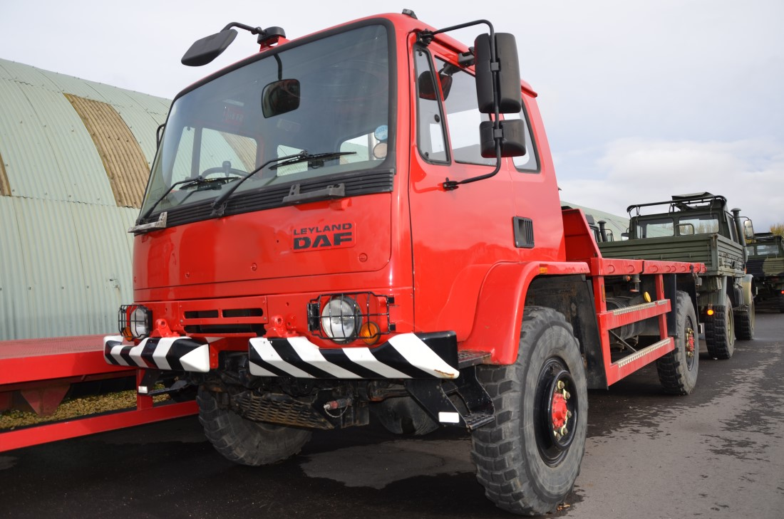 Leyland DAF 45.150  4x4 Military chassis Truck for sale