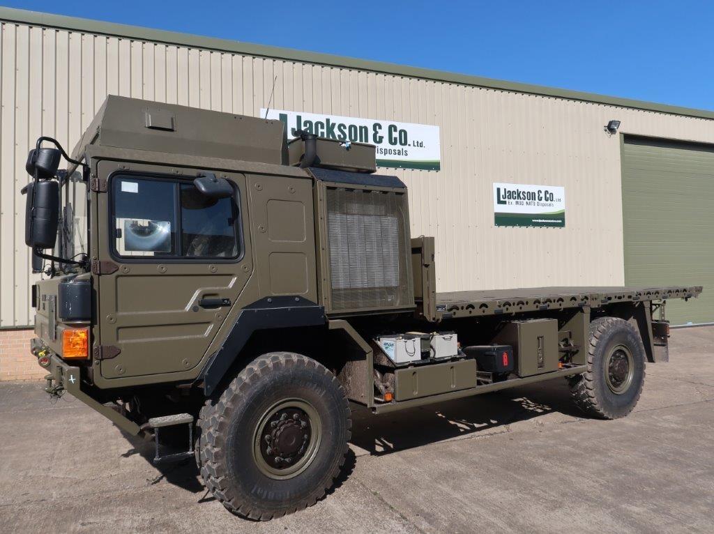 Unused MAN 4x4 HX60 18.330 Flat Bed Cargo Trucks | Конверсионная техника с военного хранения