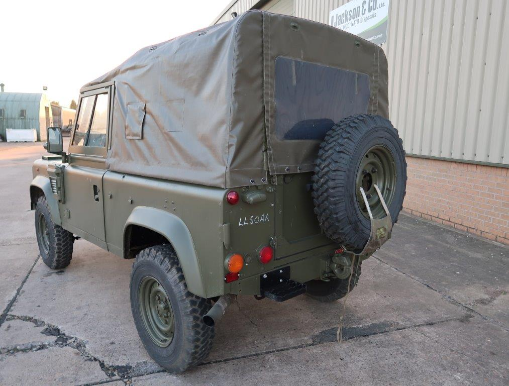 Land Rover Defender 90 RHD Wolf Soft Top (Remus) | used military vehicles, MOD surplus for sale