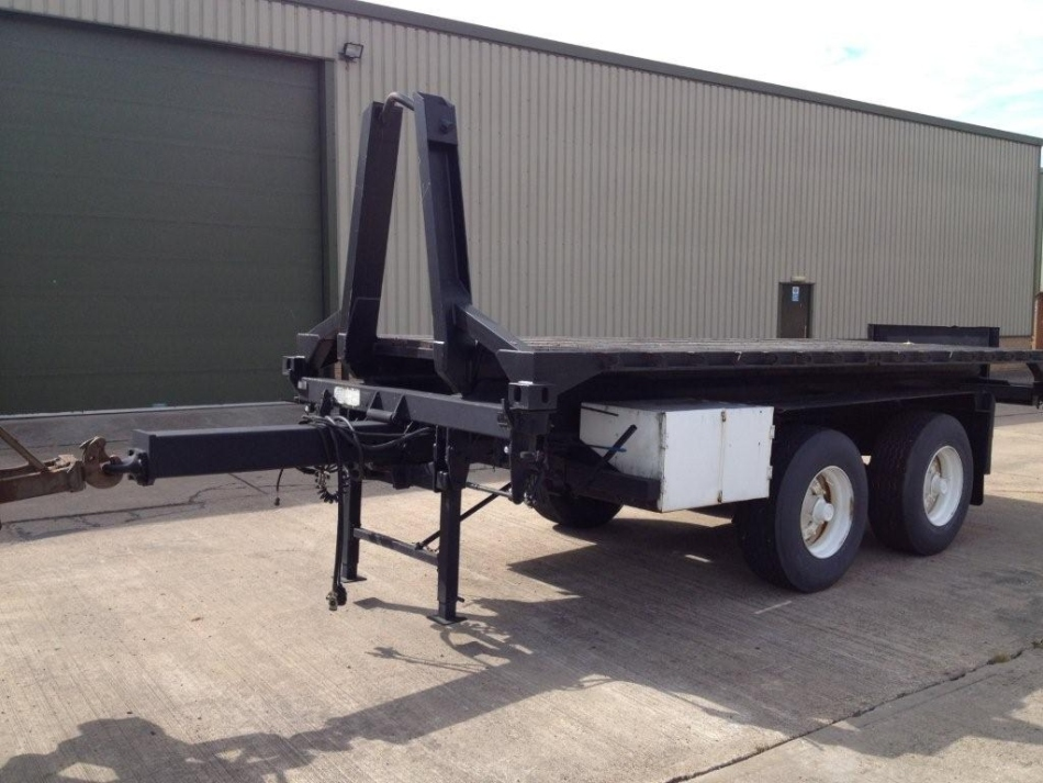 SOLD RB Tandem axle 20` ISO container trailers | used military vehicles, MOD surplus for sale