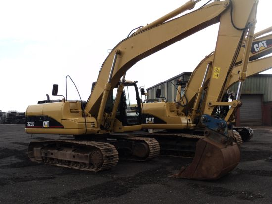 SOLD Caterpillar 320 D tracked excavator | used military vehicles, MOD surplus for sale