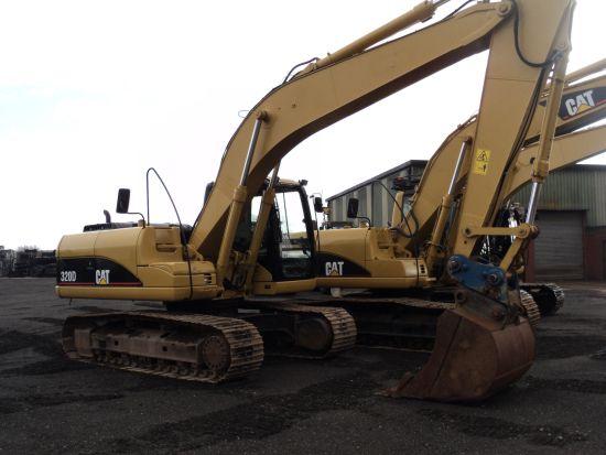 WAS SOLD Caterpillar 320 D tracked excavator