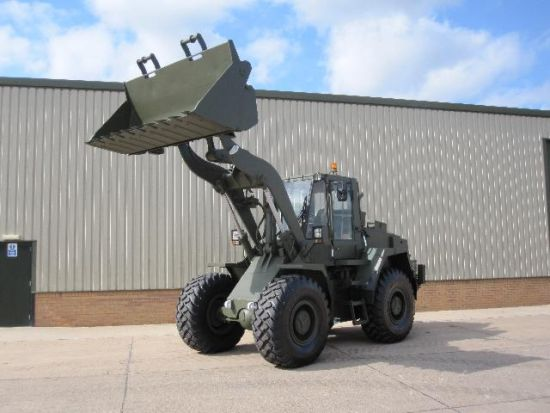 SOLD CASE 721B wheeled loading shovel | used military vehicles, MOD surplus for sale