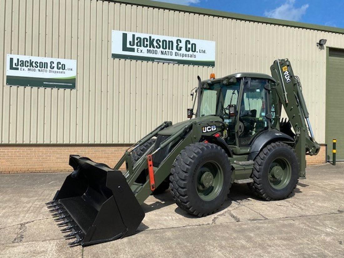 JCB 4CX Sitemaster Backhoe Loader | Military Land Rovers 90, 110,130, Range Rovers, Mercedes for Sale