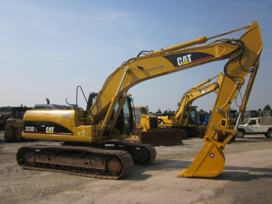SOLD Caterpillar 323 DL tracked excavator | used military vehicles, MOD surplus for sale