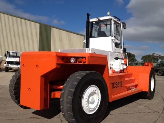 SOLD Valmet / Sisu TD 3512 Forklift Container Handler | used military vehicles, MOD surplus for sale