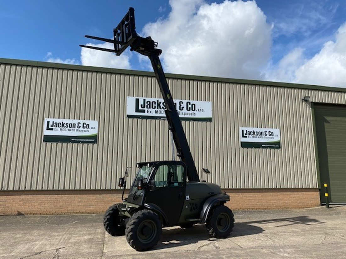JCB 524-50 Telehandler | Military Land Rovers 90, 110,130, Range Rovers, Mercedes for Sale