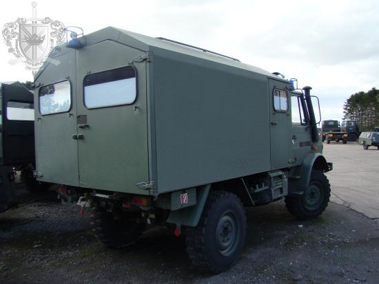 mercedes unimog u1300l 4x4 cargo van lhd for sale mod direct sales the uk. Black Bedroom Furniture Sets. Home Design Ideas