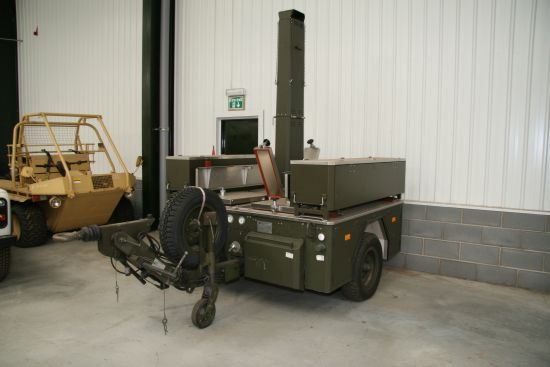 WAS SOLD Mobile field kitchen - Type FKH 900