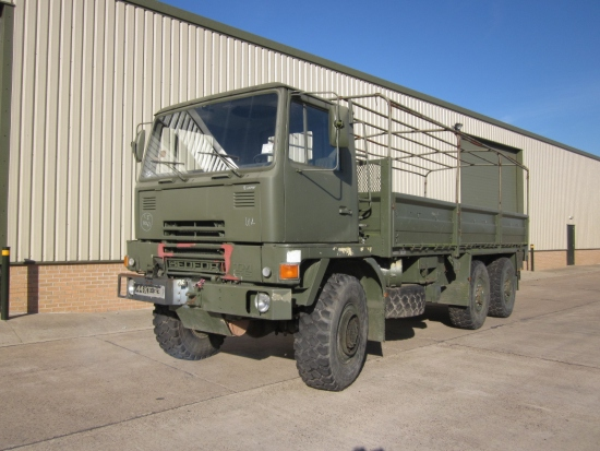 SOLD Bedford TM 6x6 winch cargo trucks LHD | used military vehicles, MOD surplus for sale