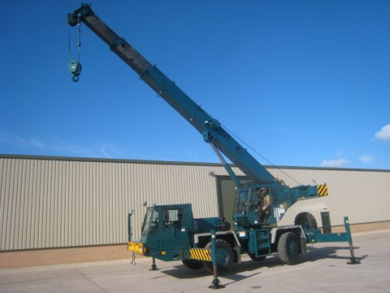 Grove AT422E Ex military all terrain crane | used military vehicles, MOD surplus for sale