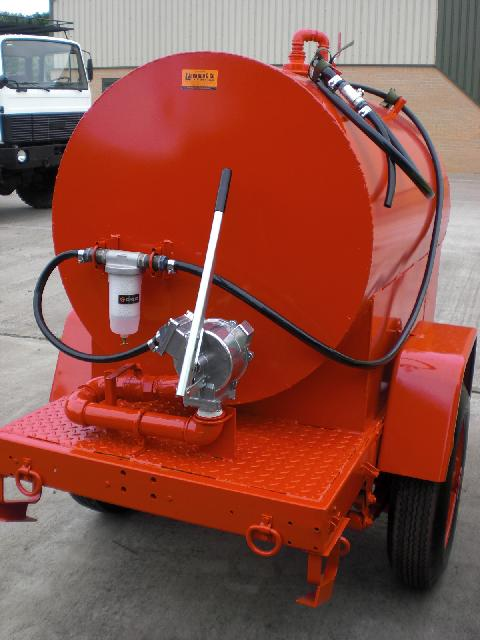 Sankey  towed tanker 950 litre.12/24v electric pump | used military vehicles, MOD surplus for sale