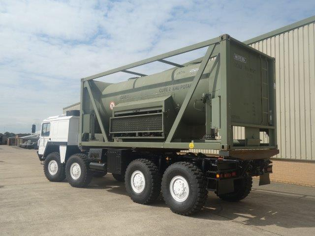 20FT ISO Potable Water Tank Containers  with flat rack | used military vehicles, MOD surplus for sale
