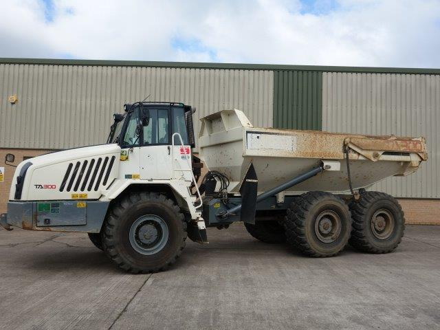 Terex TA300 6x6 Articulated Dumper 2014 Ex military vehicles for sale, Mod Sales, 4x4, 6x6, 8x8