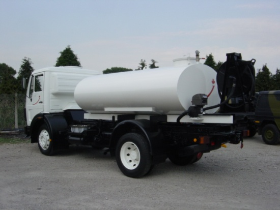 Mercedes 1017 4x4 Water tanker | used military vehicles, MOD surplus for sale