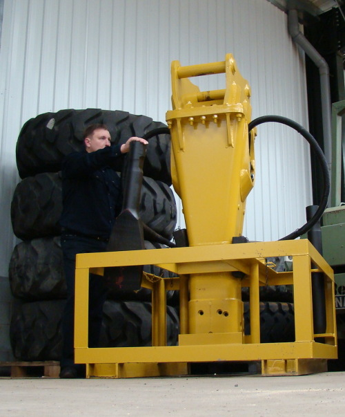SOLD Caterpillar  hydraulic hammer | used military vehicles, MOD surplus for sale
