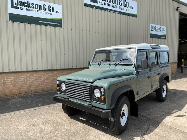 Land Rover Defender 110 TDCi Station Wagon | used military vehicles, MOD surplus for sale