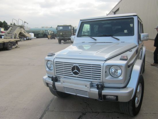 Armoured Mercedes G500  Wagon SUVs- 4x4 | used military vehicles, MOD surplus for sale