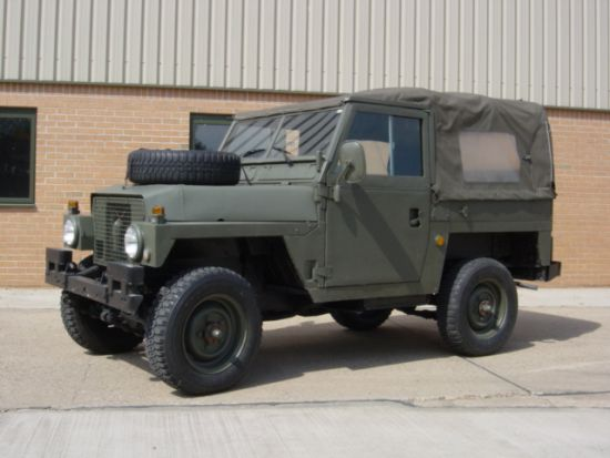 Land Rover Series III 88 Ex military | used military vehicles, MOD surplus for sale