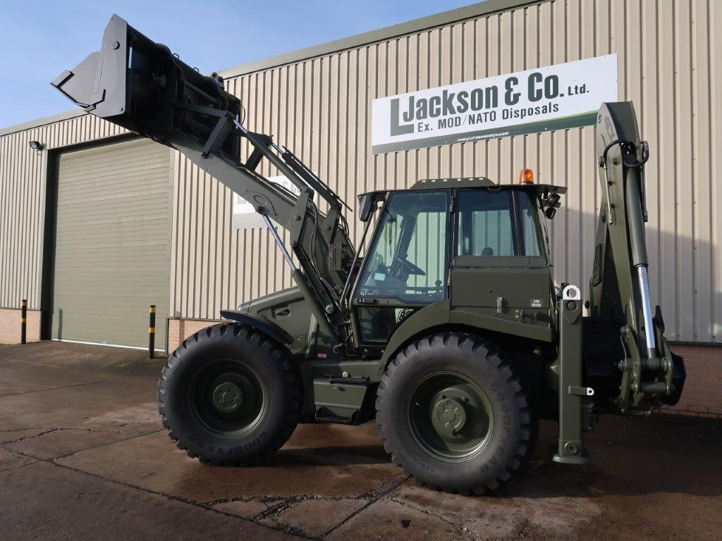 Jcb 4cx Military Backhoe Loader For Sale In Africa And The Middle Ease