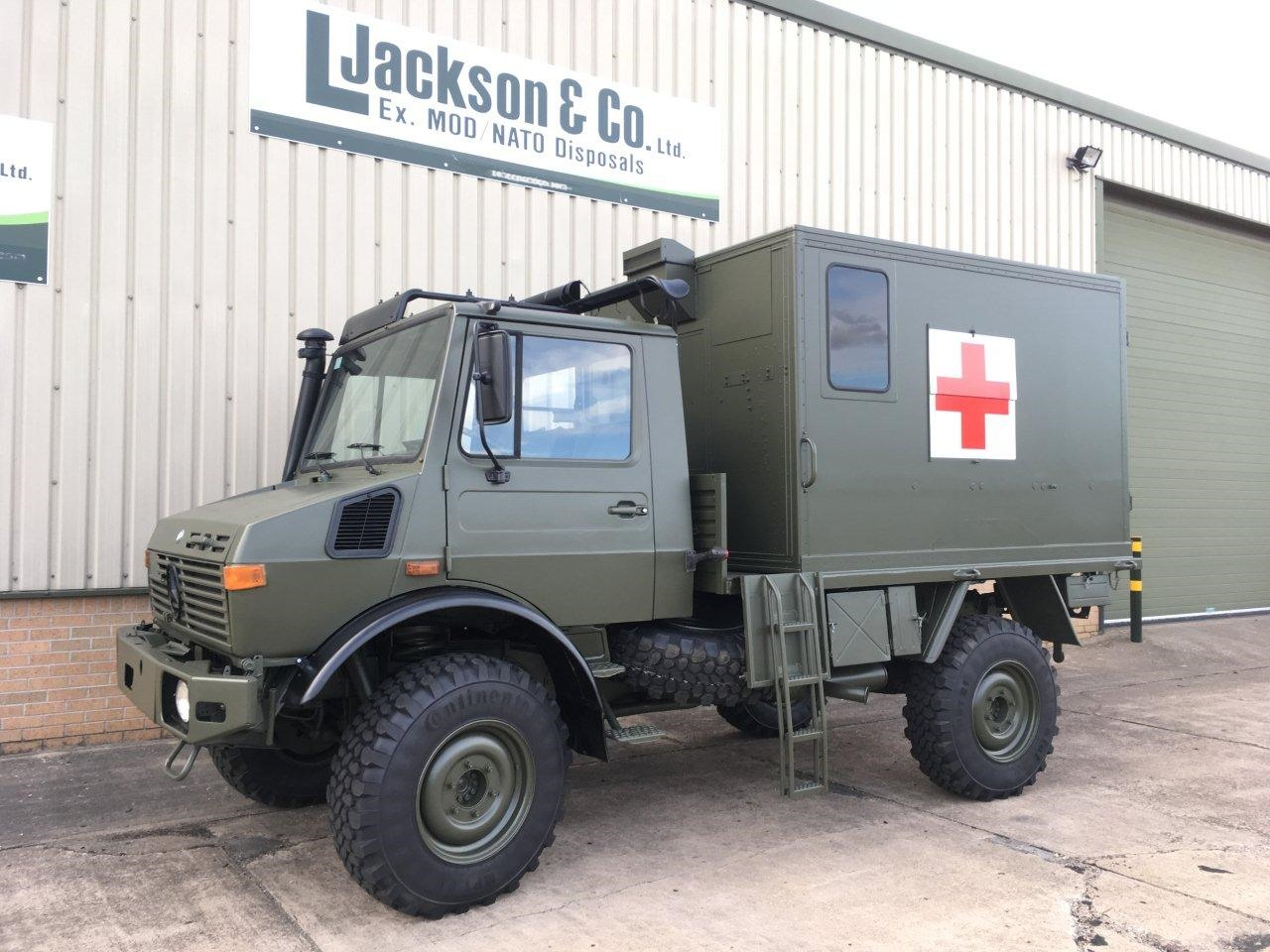 Mercedes Unimog U1300L Ambulance for sale | military vehicles