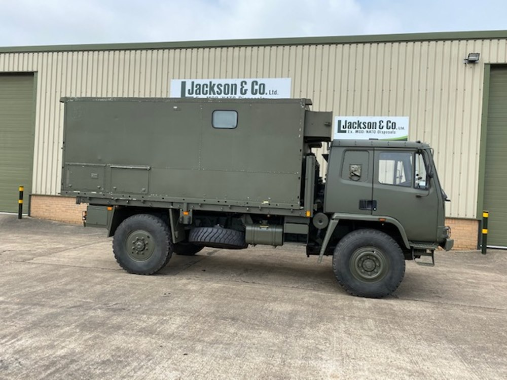 Leyland Daf 45.150 4x4 RHD box vehicle | used military vehicles, MOD surplus for sale