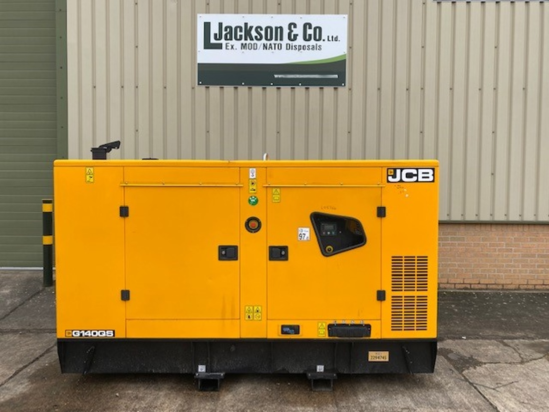 Unused JCB 140 KVA Silent Generator for sale