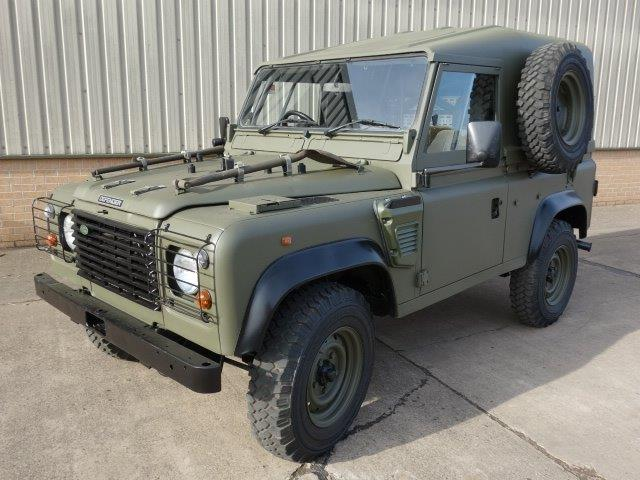 Land Rover Defender 90 Wolf Hard Top (REMUS) | used military vehicles, MOD surplus for sale