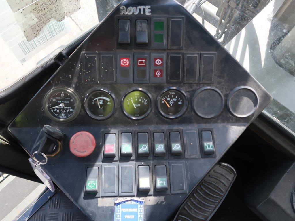 Valmet Sisu 16 Ton 1612HS 4x4 Forklift | used military vehicles, MOD surplus for sale