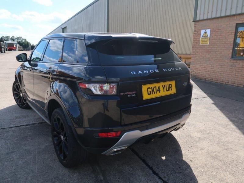 Land Rover Range Rover Evoque 2.2 SD4 Dynamic   Конверсионная техника с военного хранения