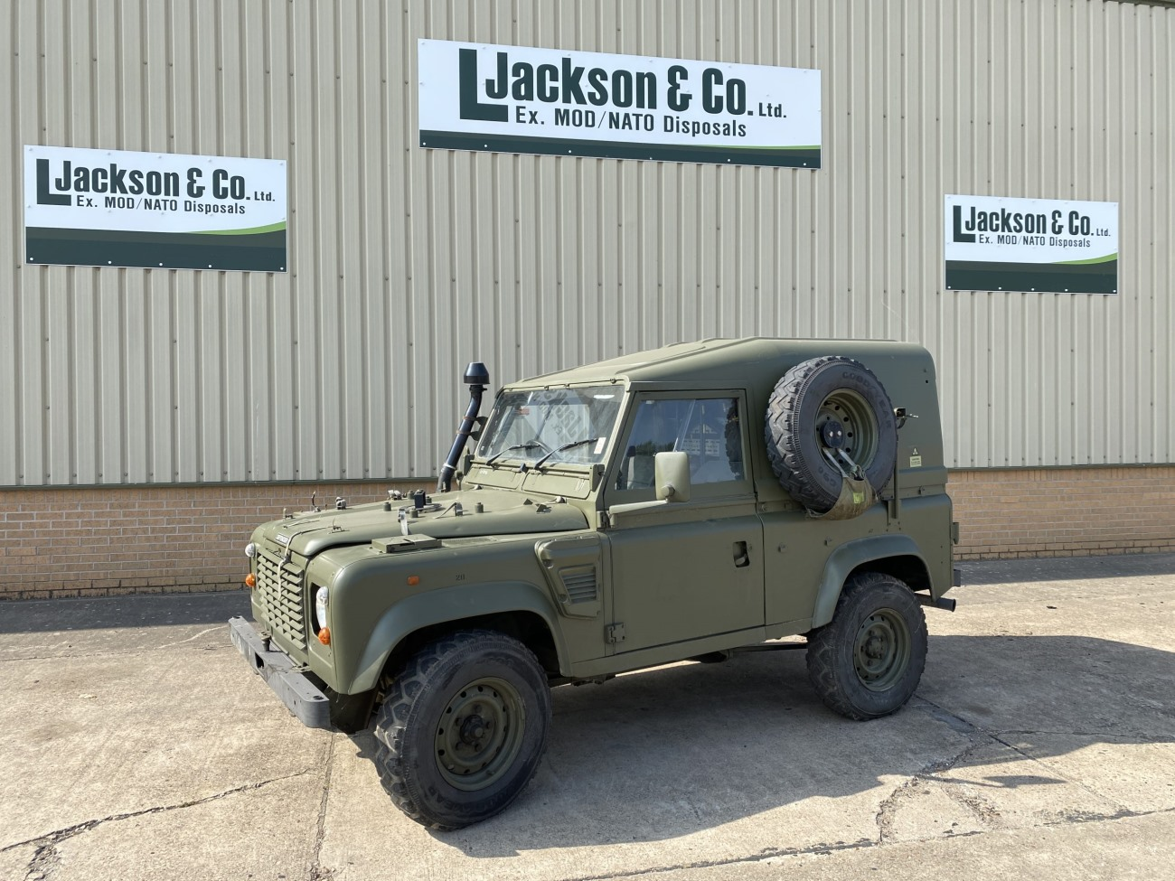Land Rover Defender 90 Wolf RHD Hard Top Remus | Military Land Rovers 90, 110,130, Range Rovers, Mercedes for Sale