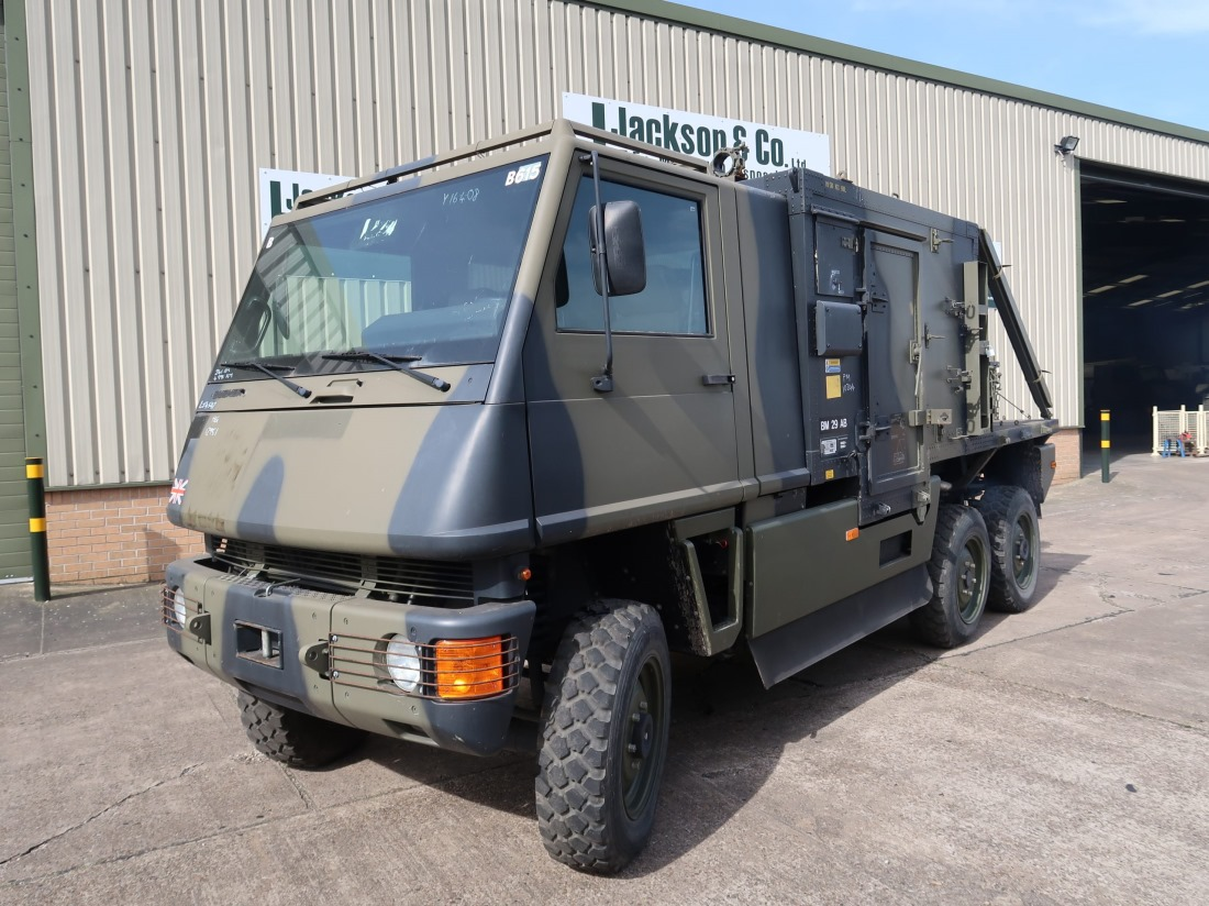 Mowag Duro II 6x6  Box Vehicle with Matrix body for sale