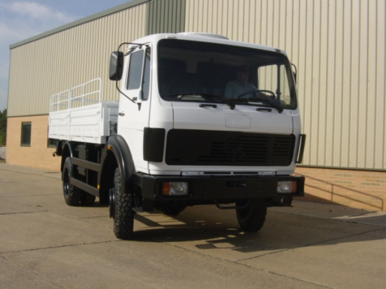 SOLD Mercedes 1017A 4x2 Drop Side Cargo Truck | used military vehicles, MOD surplus for sale